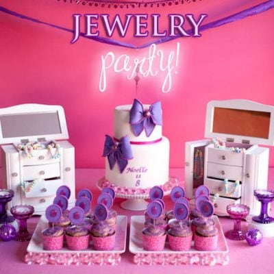 jewelry birthday party ideas