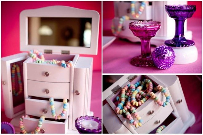 candy jewelry party