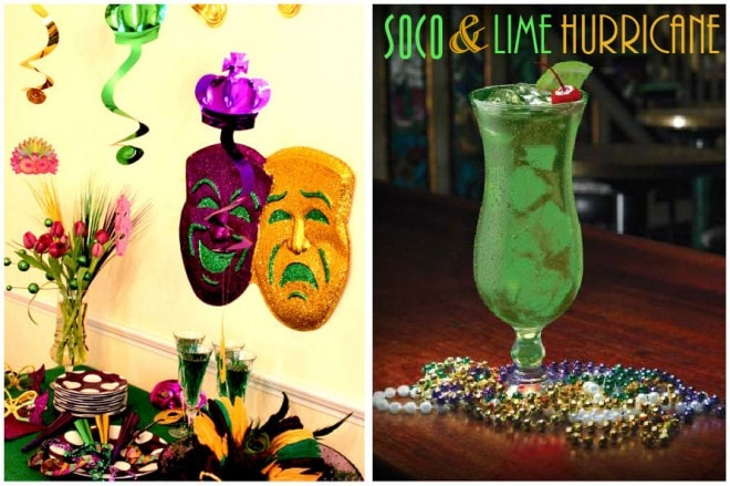 mardi gras hurricane cocktail recipe
