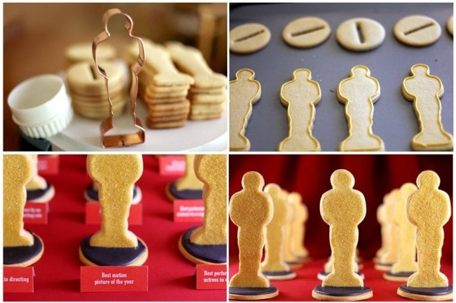 oscar academy awards 2011 dessert sugar cookies