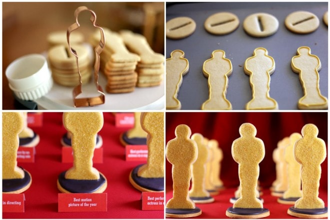 Oscar Sugar Cookies