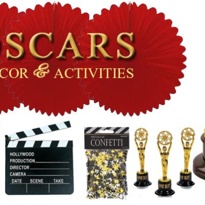 oscar party decorations