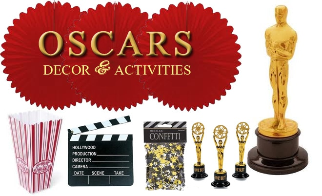 Host An Oscars Party Decor amp Activities Pizzazzerie