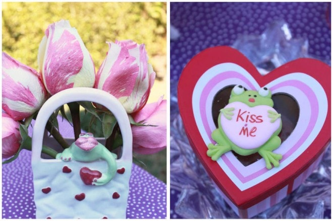 kiss me valentine's party