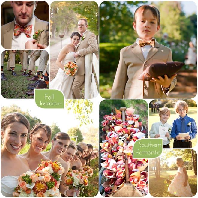 Southern Fall Wedding