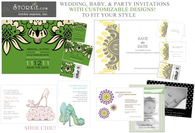 Storkie.com: Pretty Party Invites!