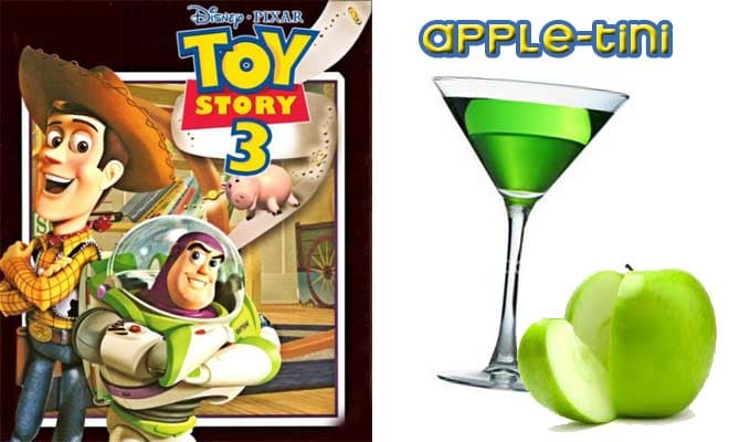 toy story cocktail for oscars