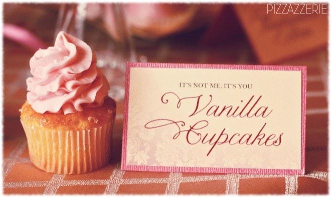 vanilla valentine's cupcakes