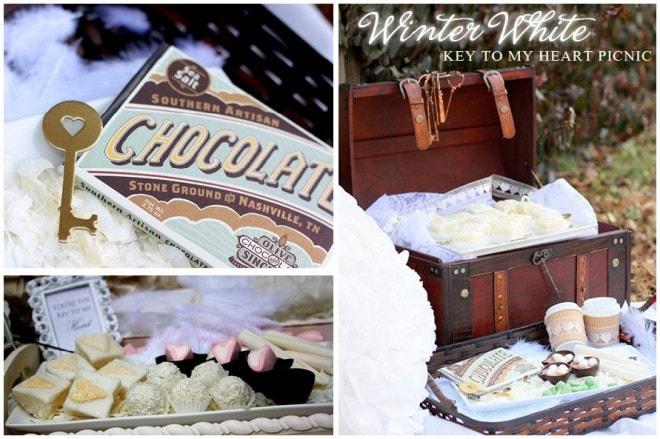 winter white picnic