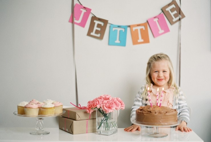 Sweet Pink Birthday Party + 15% off Tiny Prints
