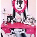 Vintage Barbie Inspired Birthday Party
