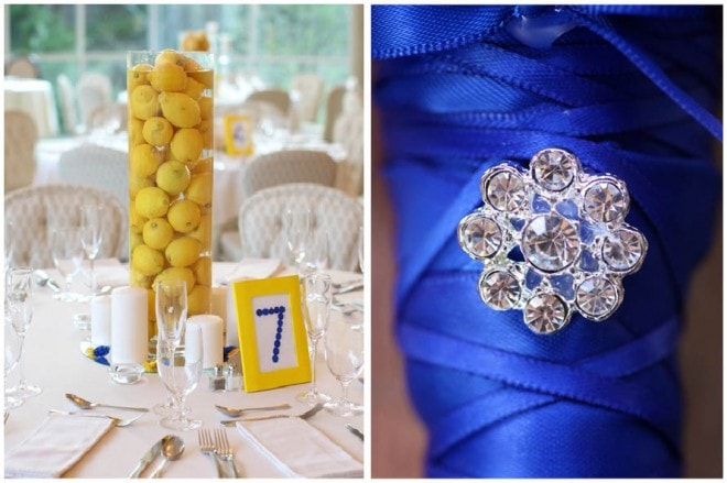 LEMON centerpieces