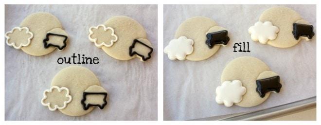 icing sugar cookies