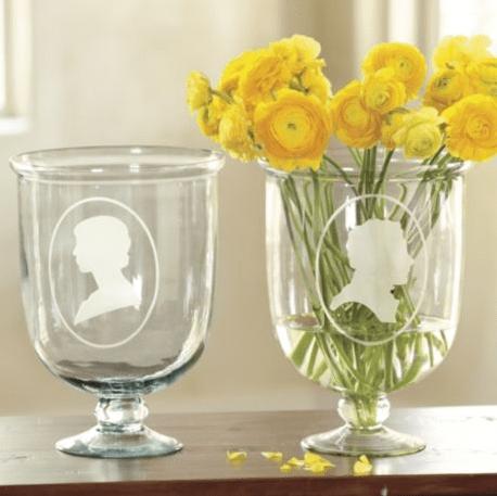 silhouette vase