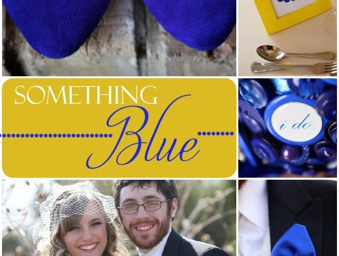 Blue & Yellow Texas Wedding