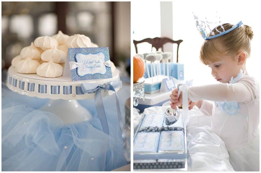 Cinderella Birthday Party Ideas Food to Decorations