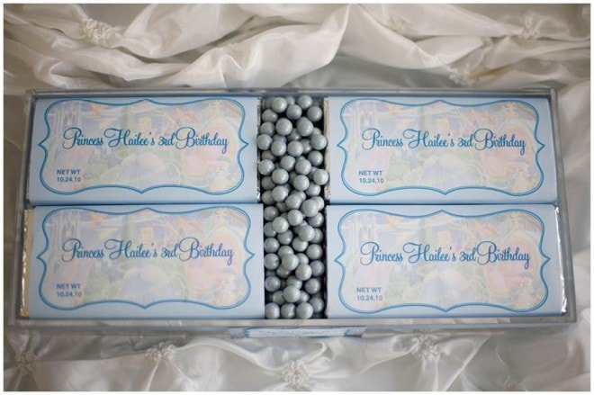 cinderella chocolate candy for party
