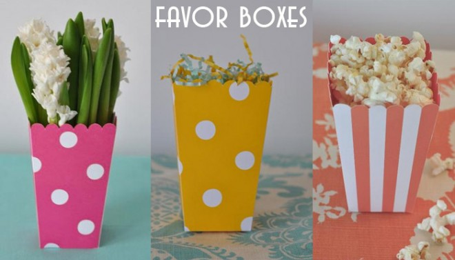 popcorn favor boxes by hicks paper goods