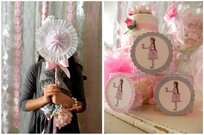 party printables for girl's birthday