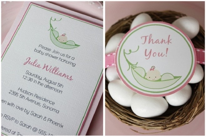 sweet pea printable party