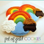 Tutorial: St. Patrick's Day Pot of Gold Cookies