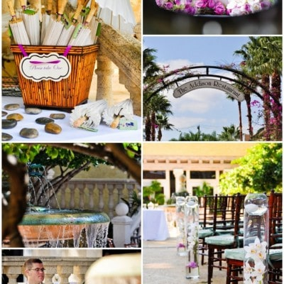 purple spring wedding ideas