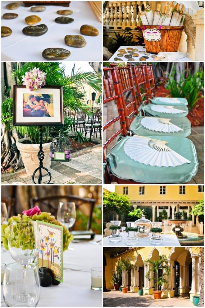 spring purple florida boca roton wedding