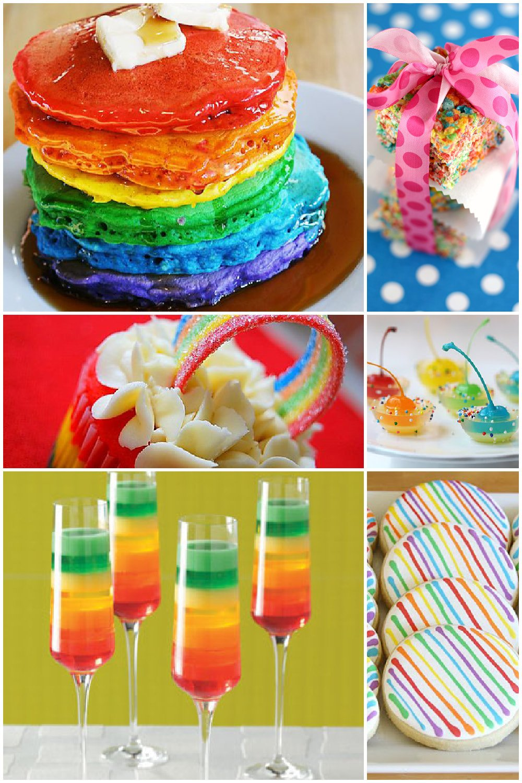 St Patrick S Day Desserts Rainbow Style Free