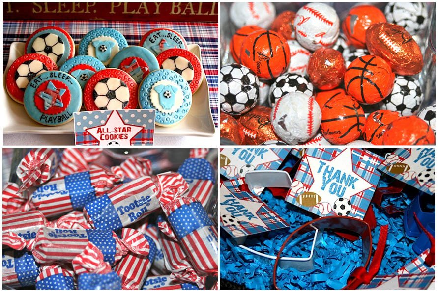 sports themed desserts sports themed baby shower ideas 5