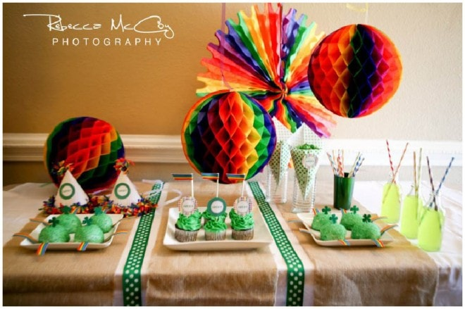 st. patrick's day oh goodie designs table