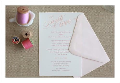 sweet love free invitation download