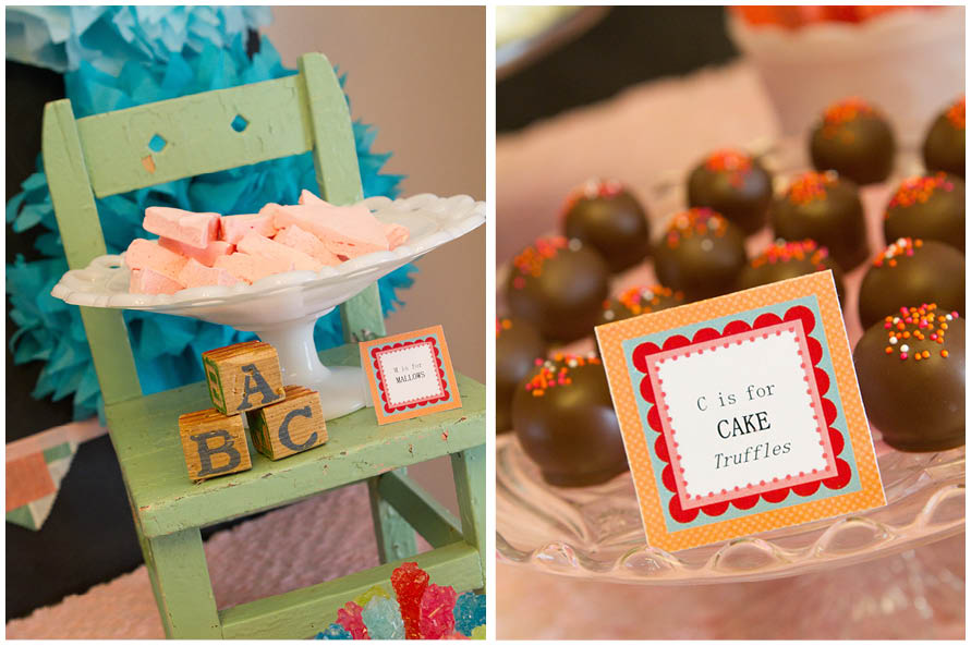 Vintage School Themed 1st Birthday Party C Is For Cake Truffles