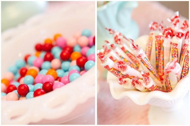 vintage candies for birthday party