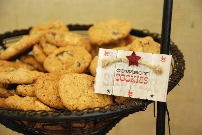 cowboy cookies for party