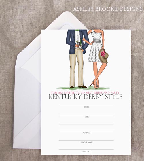 kentucky derby invite
