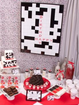 crossword puzzle party