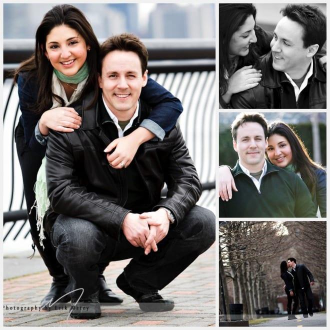 Wedding Engagement photos in Hoboken