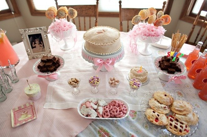 pink sweet as pie party