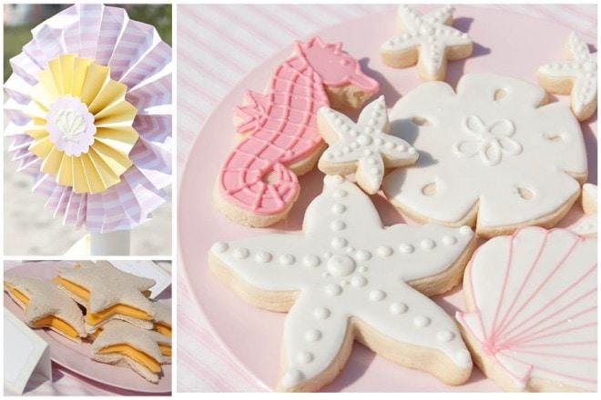 beach sand dollar sugar cookies