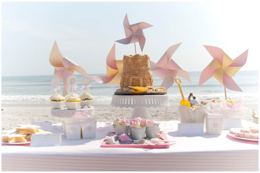 Beach Baby Birthday Party Pizzazzerie