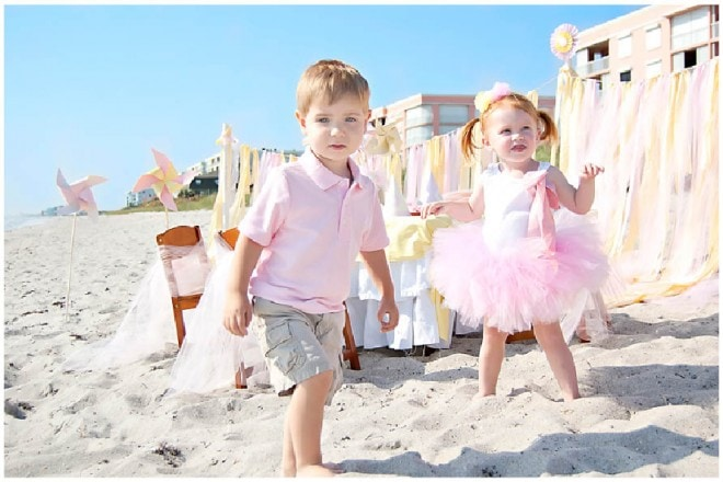 beach baby birthday photo shoot 5