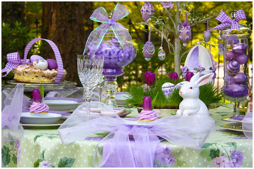 diy lavender easter brunch pizzazzerie. Black Bedroom Furniture Sets. Home Design Ideas