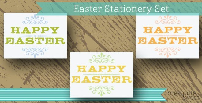 easter stationery