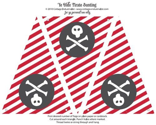 Free Pirates Birthday Party Invitation - Fun Birthday Party Ideas for Boys! LivingLocurto.com