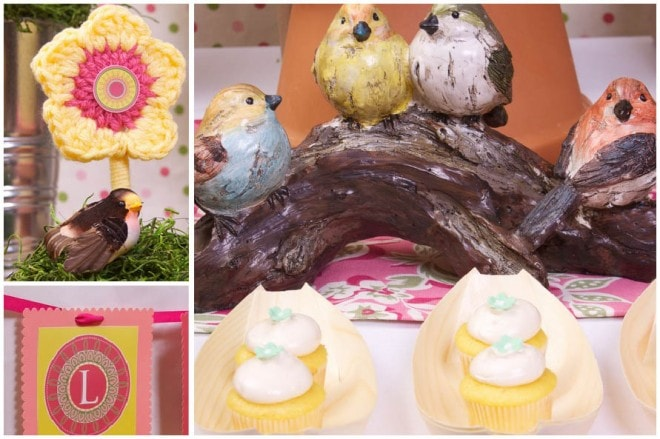 bird nature garden party