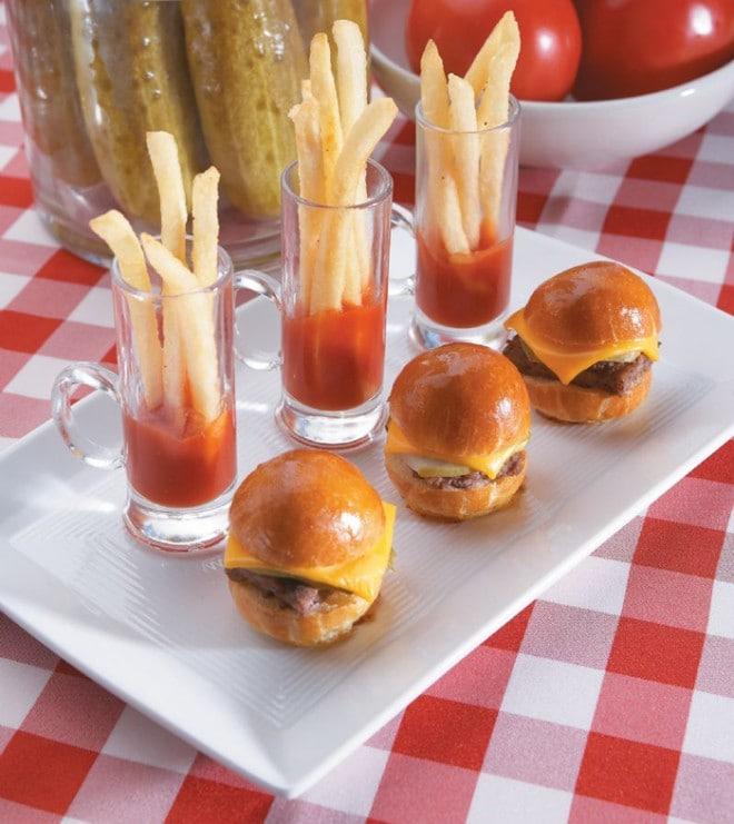 miniburgers sliders