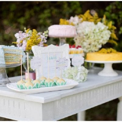 mothers day dessert table 1