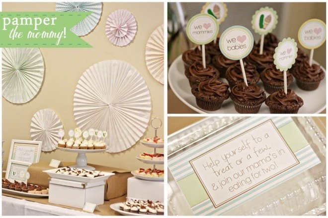 pamper the mommy baby shower 1
