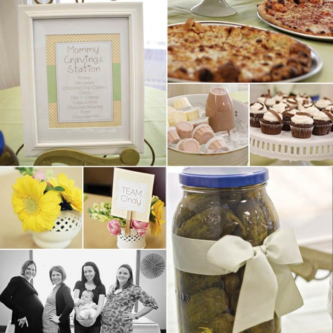 pamper the mommy baby shower 2