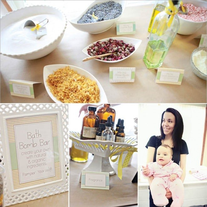 pamper the mommy baby shower 4